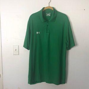 Under Armour Green Men's Polo Shirt